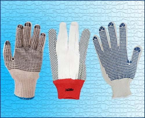 PVC dotted gloves | Safety Dotted Gloves Suppliers Dubai UAE
